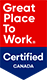 Great Place To Work - Certified Canada