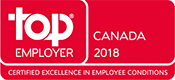 Top Employer - Canada 2018